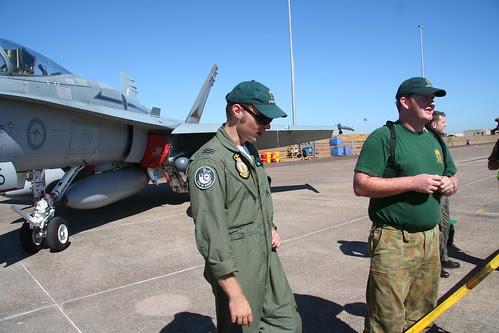 """Peter """"Topper"""" Tipper F/A 18 Hornet pilot"""
