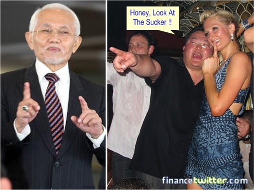 Jho Low Tells Paris Hilton To Look At Sucker Taib Mahmud