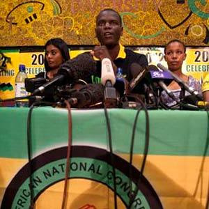 ANC Youth League Deputy President Ronald Lamola gave details of the upcoming leadership elections for the organization. The decisions will be made at the upcoming party congress at Mangaung. by Pan-African News Wire File Photos