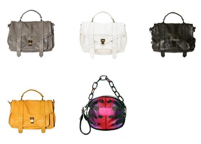 Proenza Schouler Spring/10 handbags