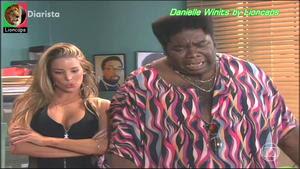 Danielle Winits sensual na serie Diarista