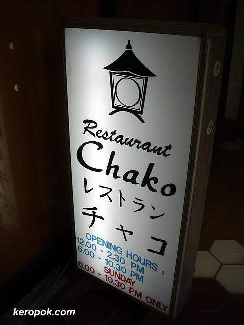 Restaurant Chako