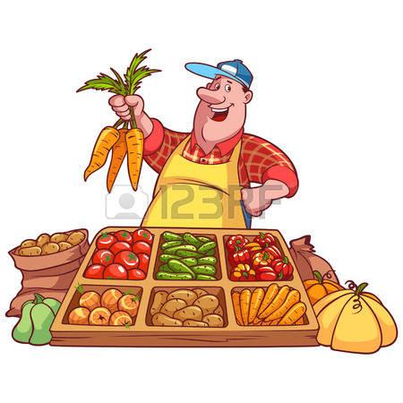 market vegetables clipart 10