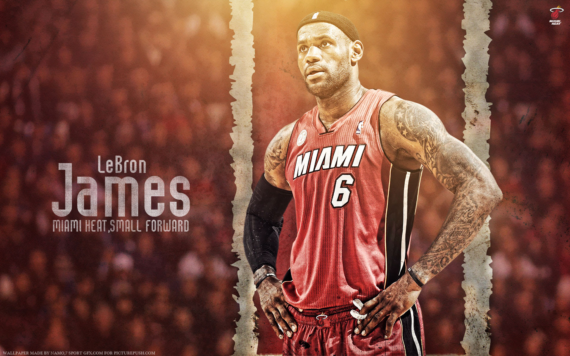 Lebron James Heat 6 1920 1200 Wallpaper Basketball Wallpapers At