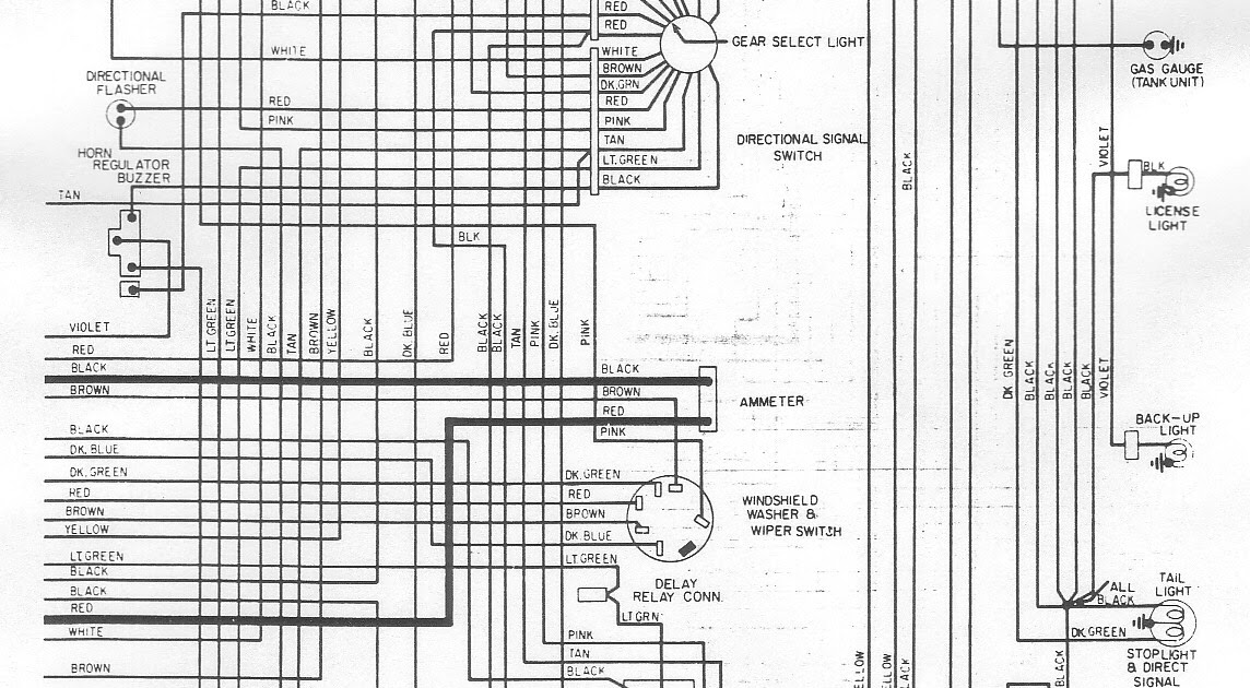1974 Plymouth Fury Wiring Diagram