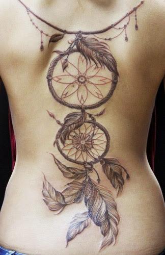 Descubre Los Originales Tatuajes Atrapasueños Y Sus Significados