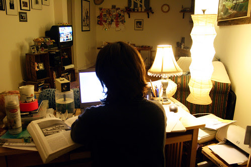 Paper Writing Fiend by Caitlinator, on Flickr