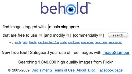 Behold | Search High Quality Flickr Images