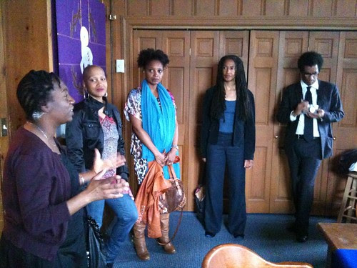 Teri Cross Davis, Janice Lowe, Tracy K. Smith, Sharan Strange, Thomas Sayers Ellis