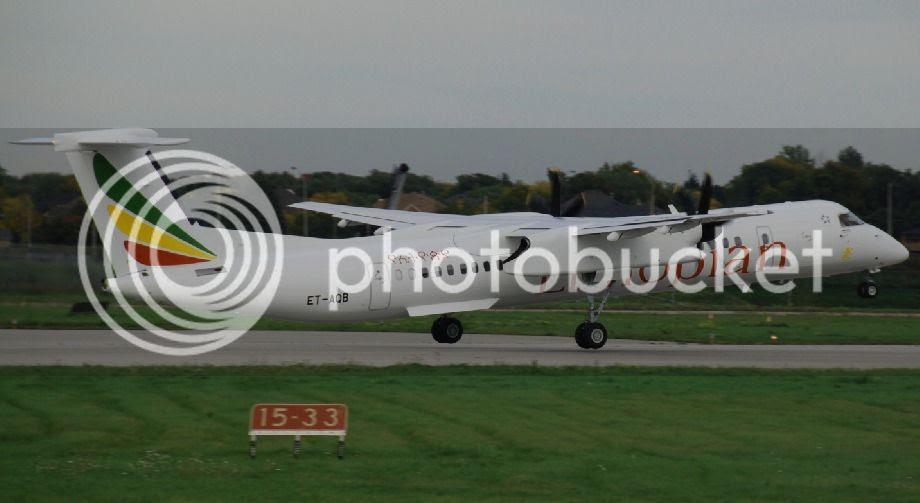 Ethiopian Airlines Q400 (ET-AQB)