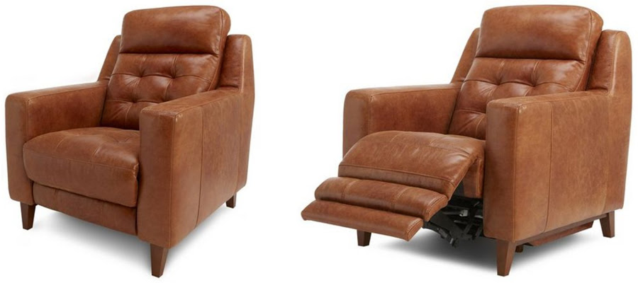 Siobhan Lazydays: Electric Leather Reclining Chairs