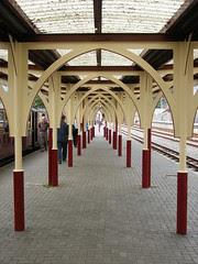 Blaenau station canopy