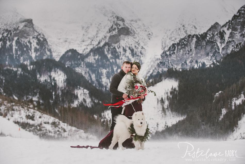 zimowa sesja w tatrach