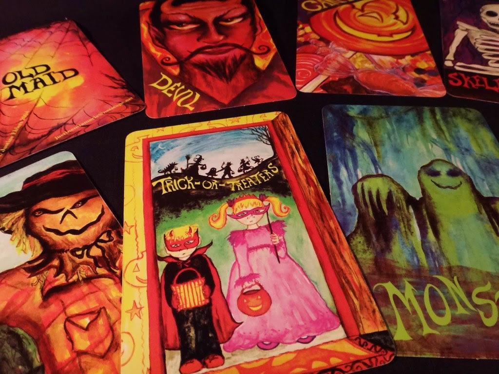Old Maid Halloween card game by Justine Ehlers