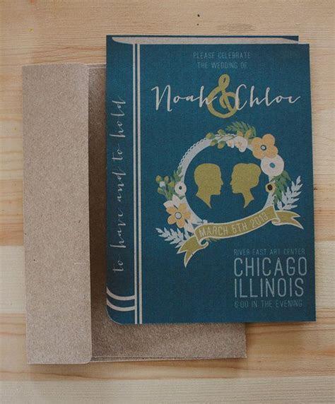 Best 25  Book wedding invitations ideas on Pinterest