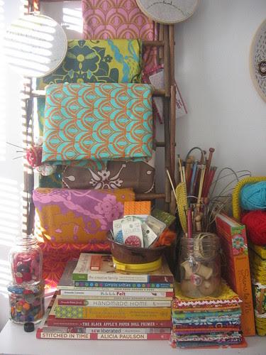 drawing room. drying rack
