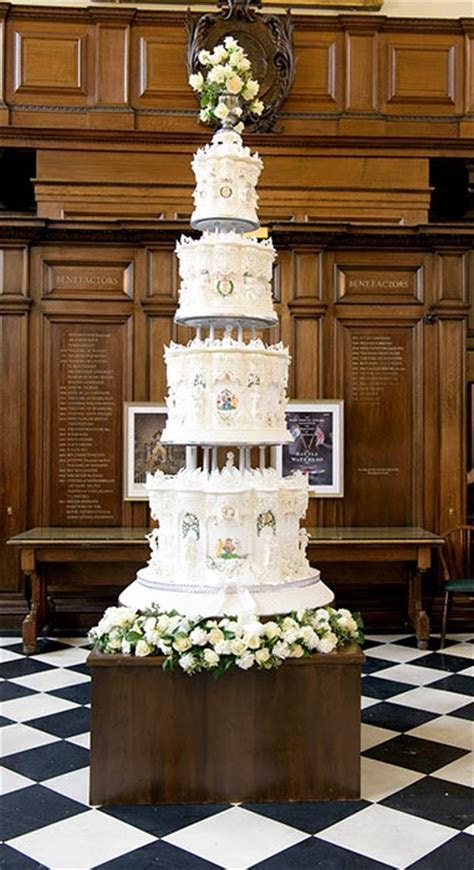 Chefs Created A Replica Of Royal Wedding Cake For 70th