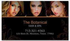 BCS-1000 - salon business card