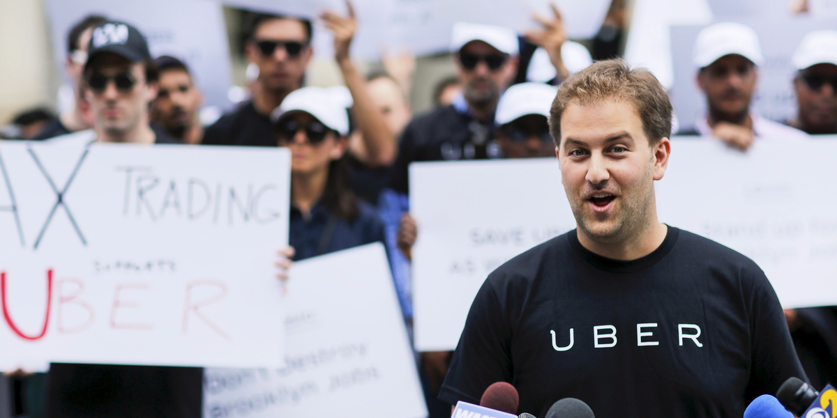 And it's not just the top execs that are leaving. Longtime Uber managers, like Josh Mohrer, who ran its NYC operation, have departed in recent months.