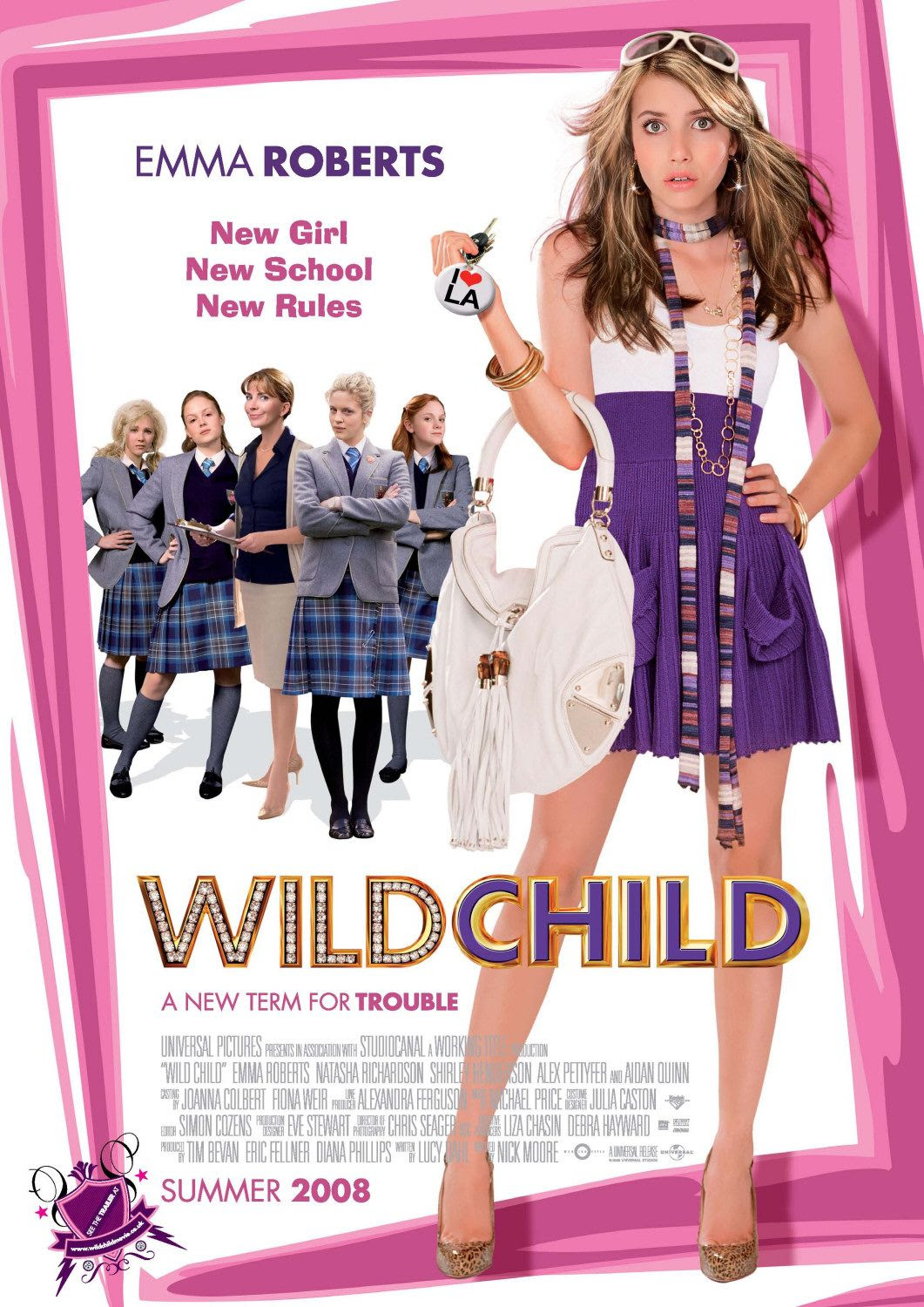 Extra Large Movie Poster Image for Wild Child