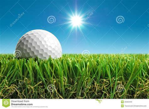 Golf Ball In The Sun Stock Photos   Image: 25562443