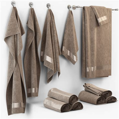 3d model towel cloth fabric