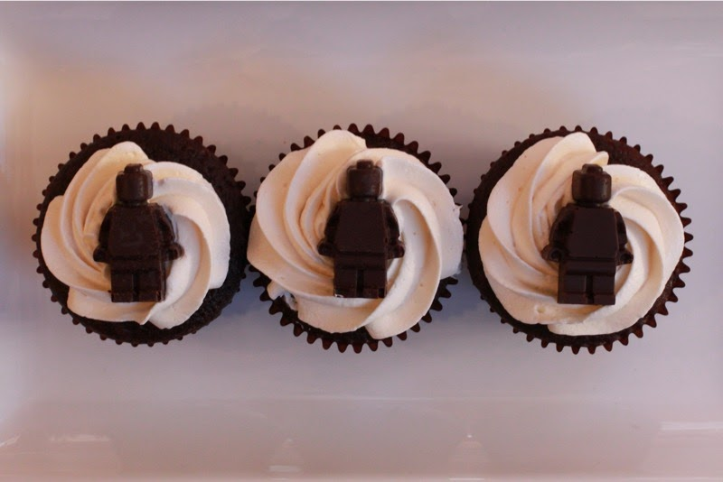 Chocolate Lego Men Cupcakes Twilight Travel And Treats
