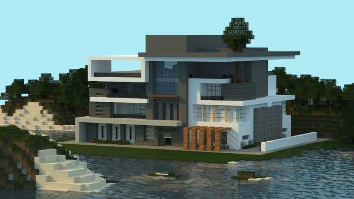Box   Modern House - Minecraft Building Inc
