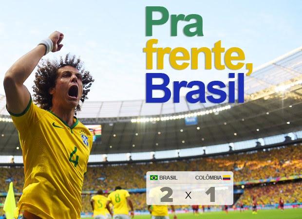 Brasil enfrenta a Alemanha na semifinal (AFP)