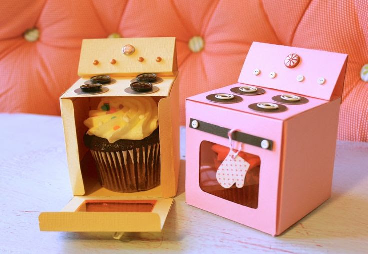 Oven Box for Cupcakes/Gifts::Free printable