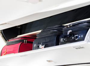 Under seat travel luggage
