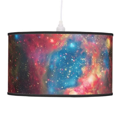 Monogram Star Superbubble, Large Magellanic Cloud Hanging Pendant Lamps