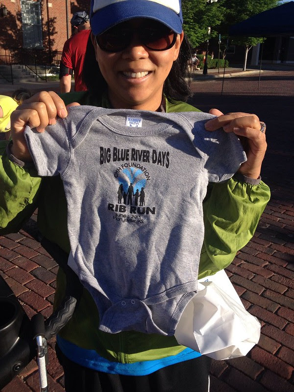 A Rib Run ONESIE! The cute is killing me.