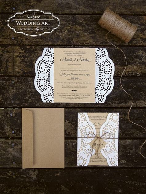25  best ideas about Doily Invitations on Pinterest   Diy