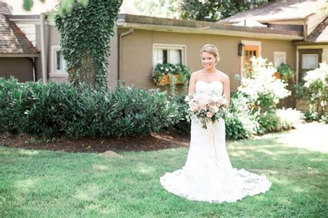 Lush   Romantic Inn at Grace Winery Wedding by Lindsay