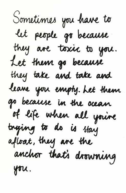 A Quote For Letting Go