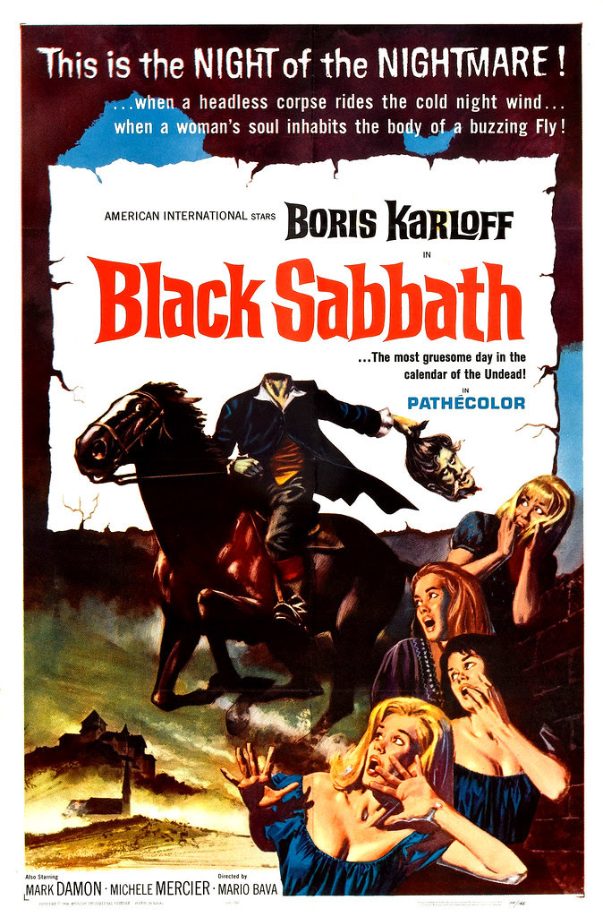 Reynold Brown - Black Sabbath (American International, 1964)