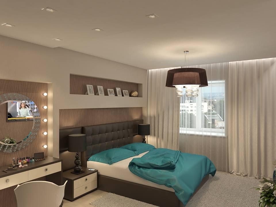 Brown Cream Bedroom Ipc129 Unique Bedroom Designs Al Habib Panel