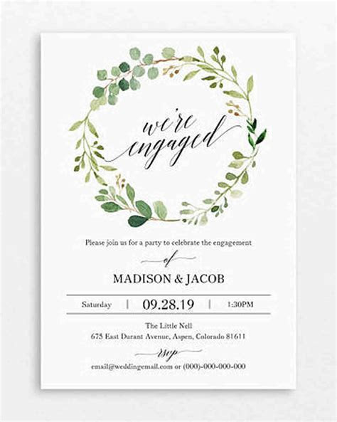 Engagement Party Invite   Shilohmidwifery.com