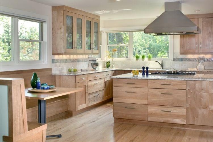 Küche Landhausstil Modern Holz