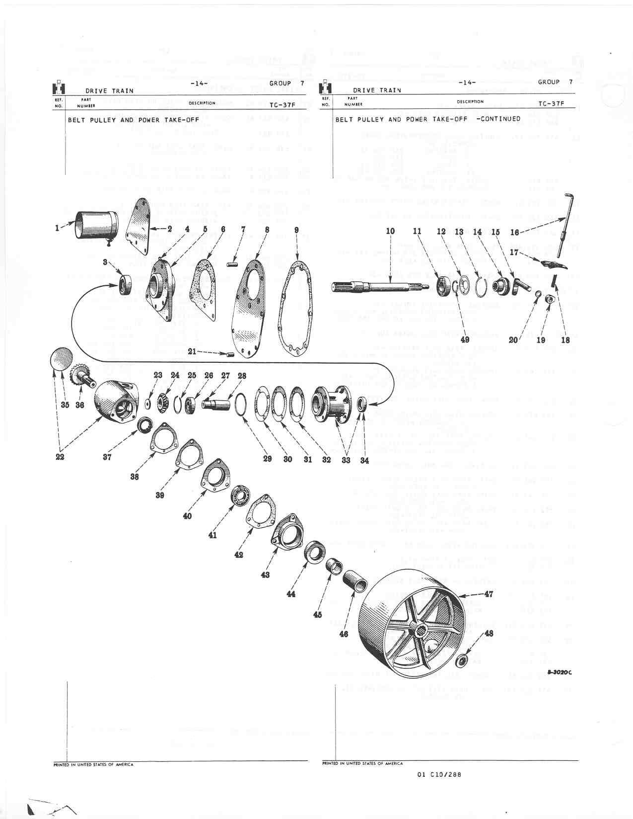 34 cub lo boy 154 parts diagram