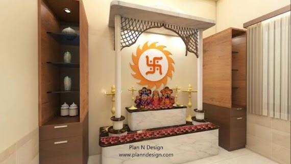 Lovely Modern Mandir Design For Home