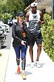 khloe kardashian tristan thompson hit the gym together in calabasas 01