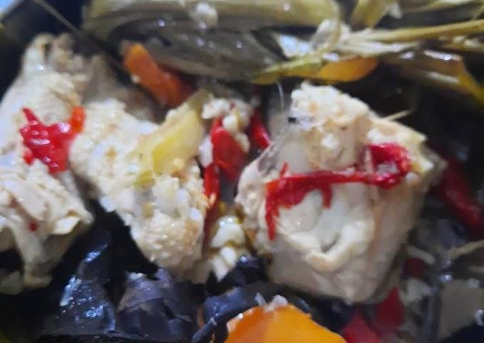 Resep Mudah Garang Asem Ayam Kukus Lezat