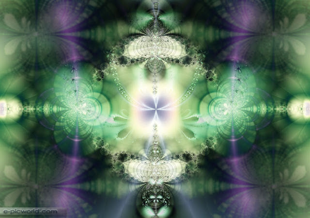 fractals abstract wallpaper - deep meditation