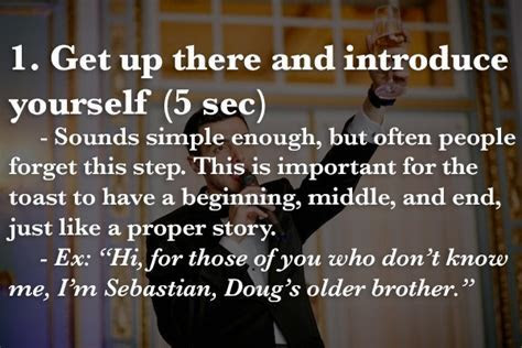 Giving a toast soon? Here?s a best man speech recipe to