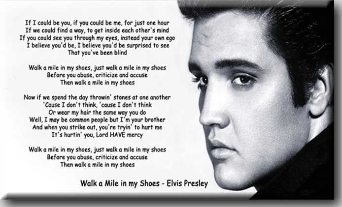 Walk My Shoes Quotes Walk In My Shoes Quotes Quotesgram