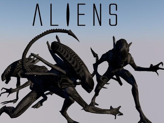 Model Player Xenomorph Alien