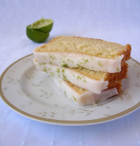 Lime yogurt cake