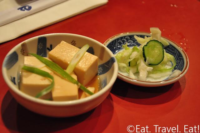 Tofu and Sonomono